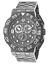 Challenger Chronograph Gunmetal Ip Steel Grey Dial (10125-Gm-104)