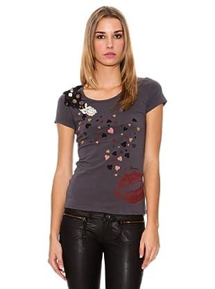 Fornarina Camiseta Bice Lux (Antracita)