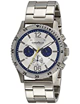 Caravelle New York  Chronograph Silver Dial Men's Watch - 43A130