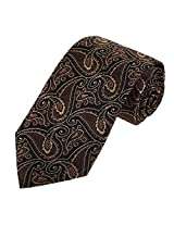 EAA1B08A Microfiber Ties Business Fashion Handmade Gift Black paisley Contemporary Luxury Various Gifts Idea By Epoint