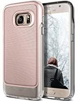 Galaxy S7 Case, Caseology® [Vault Series] Rugged Slim Cover [Rose Gold] [Active Armor] for Samsung Galaxy S7 (2016) - Rose Gold