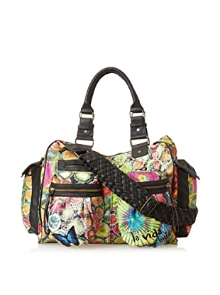 Desigual Women's London Shoulder Bag, Green