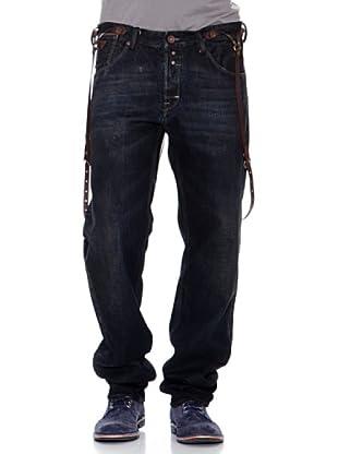 Guess Pantalón Recto (Negro)