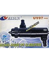 Resun Algae Gone UV07 11W Aquarium UV Clarifier