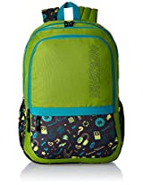 American Tourister Hashtag Lime Casual Backpack (Hashtag 03_8901836130836)