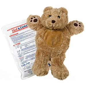 Gelly Belly Bear Hot/Cold Therapy Pack, Honey Bear