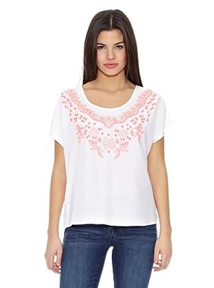 Springfield Blusa Cbeach Embroidery Blo (Blanco)