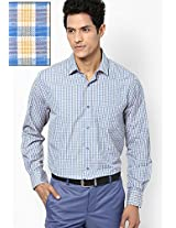 Blue Full Sleeve Formal Shirt
