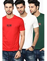 Multi Round Neck T-Shirt