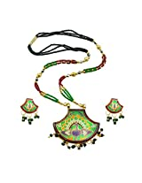 Aakhi crystal Necklace Set for women