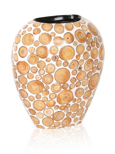 Mercana Décor Spintel Vase (Brown)