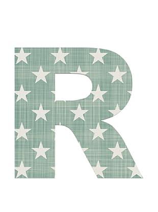 Letra Decorativa Letra R