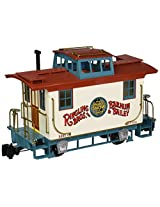 "Bachmann Ringling Bros. Barnum & Bailey - Bobber Caboose #4 - Large ""G"" Scale Rolling Stock Train"