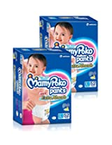 Mamy Poko Large Size Diapers (2 Packs, 52Count per Pack)