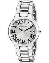 Raymond Weil Women's 5235-ST-00659 Jasmine Silver-Tone Stainless Steel Watch