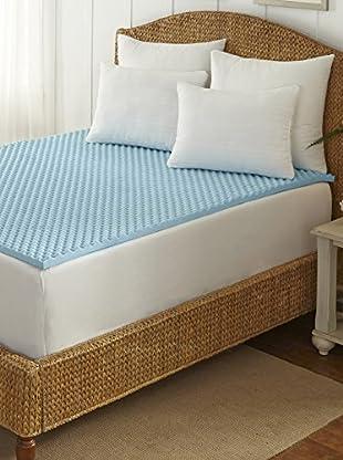 Tempure Rest Cool-Blue Memory Foam Topper