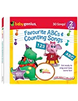 Baby Genius - Favourite ABC And Counting Songs 2 Audio CD In English