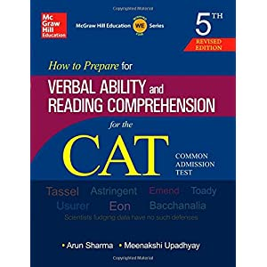 How to Prepare for Verbal Ability and Reading Comprehension for CAT By Arun Sharma (Author), Meenashi Upadhyay (Author)
