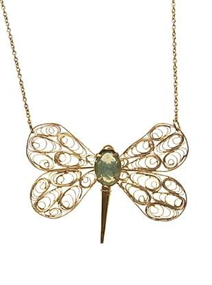Sigris Collar Mariposa (Dorado Viejo)