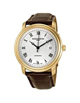 Frederique Constant Classics Automatic Silver Dial Gold-Plated Men's Watch -FC-303MC4P5