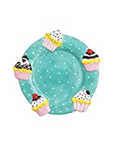 The Cupcake Circle Dessert Plate