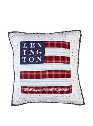 Lexington Company Funda De Cojín Logo (Blanco / Azul)
