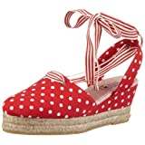 Adelheid Seemannsbraut Ballerina mit Keilabsatz 11131203136 Damen Espadrille Halbschuhe