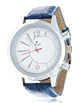 Calvino Men's White Dial Watch CGAS-151548_blue wht