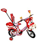 HLX-NMC KIDS BICYCLE 12 NAVIGATOR RED/WHITE