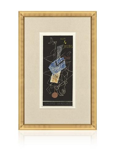 Georges Braque Sur 4 Murs Galerie Maeght, 1959, 14