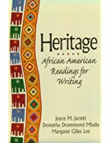 Heritage: African American Readings for Writing