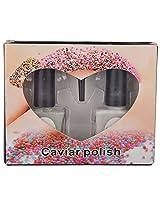 Caviar Nail Polish, Pearls & Peach, 8 grams