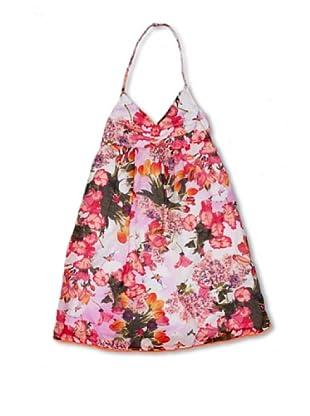 CKS Kids GIRLS Vestido Flowers (Rojo)