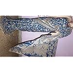 Blue Kalamkari Cotton Saree With blouse piece