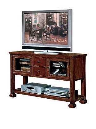 Legends Furniture Cambridge Sofa/Console Table, Chestnut