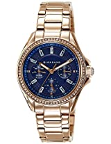 Giordano Analog Blue Dial Women's Watch - 2721-55