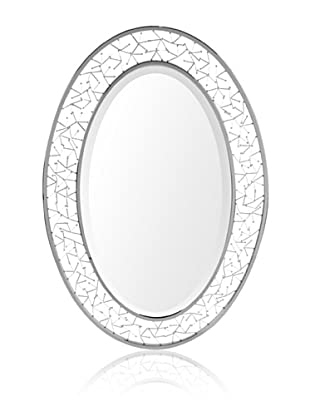 Uttermost Brandon Oval Mirror, Silver