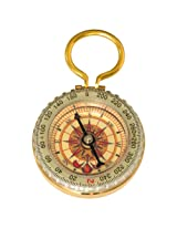 HTS 221A0 Glow in the Dark Brass Compass