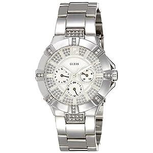 GUESS Analog White Dial Women's Watch - W12080L1