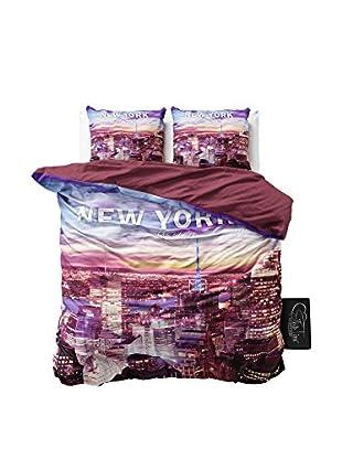 SleepTime Juego De Funda Nórdica New York 3 Multi
