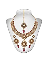 Niki Jewels HG Copper Base Neckalce for women (Multicolour) (021 008 147)
