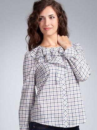 Sinequanone Camisa (azul / crudo)