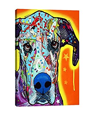 Dean Russo Great Dane Gallery Wrapped Canvas Print