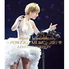 ayumi hamasaki ~POWER of MUSIC~ 2011 A(���S) LIMITED EDITION [Blu-ray]