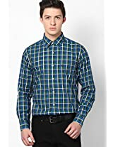 Green Full Sleeve Casual Shirt Allen Solly
