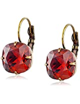 "Liz Palacios ""Arco Iris"" Swarovski Elements Crystal Earrings"