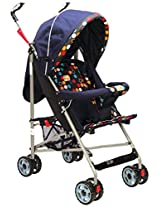 Mee Mee Baby Stroller (Blue Doted)