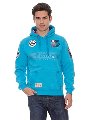 Geographical Norway Sudadera Forest (Turquesa)