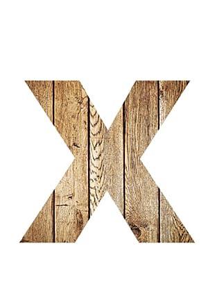 Letra Decorativa Letra X