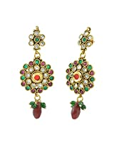 Aakshi Golden Metal Dangle & Drop Earring For Women